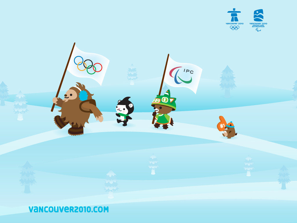 Back Of The Cereal Box The 2010 Olympic Mascots Cute Or